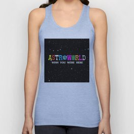Astroworld - wish you were here Unisex Tank Top