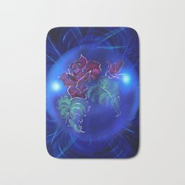 Abstract in perfection - Fertile Imagination Rose 2 Bath Mat