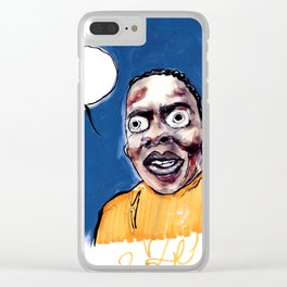 phife with the roughneck business Clear iPhone Case