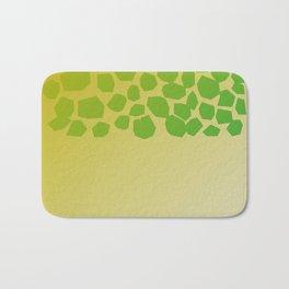 Exotic design blocks on Pink Bath Mat