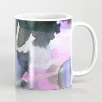 blush Mugs featuring Blush by Amy Sia