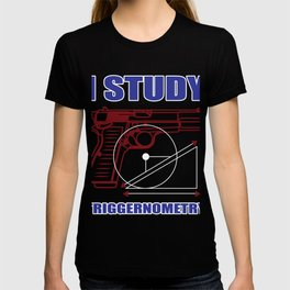 Student Weapon Triggernometry Deduction Funny Gift T-shirt