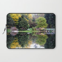 Park Reflections  Laptop Sleeve