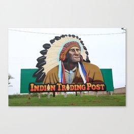 Route 66 - Oklahoma Trading Post 2008 Canvas Print