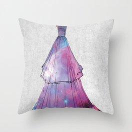 Galaxy Dress Throw Pillow