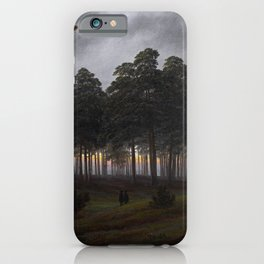 Caspar David Friedrich - The Times of Day - The Evening iPhone Case
