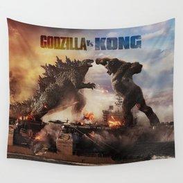Godzilla vs Kong Wall Tapestry