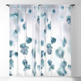 Cherry Flower 2 (spring floral pattern) Blackout Curtain
