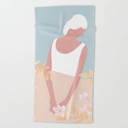 Soft Morning II Beach Towel