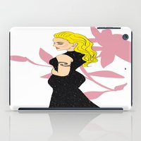 mom iPad Cases featuring Mom by LizDrawsss