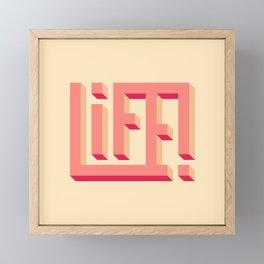 Life! Framed Mini Art Print