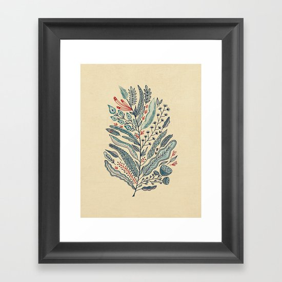 Turning Over A New Leaf Framed Art Print