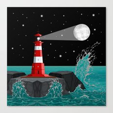 Moon Maker Canvas Print