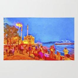 Istanbul Pop Art Rug