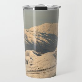 Winter Snow in the Mountains Travel Mug