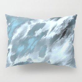 Blue animal print Pillow Sham