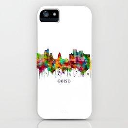 Boise Idaho Skyline iPhone Case
