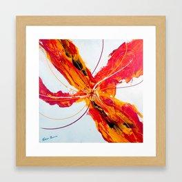 Gulmohar Framed Art Print