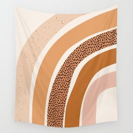 Earth Color Rainbow Wall Tapestry