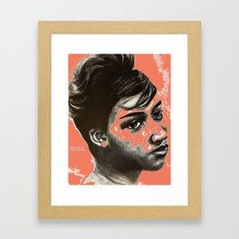 Aretha Soul Framed Art Print