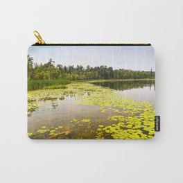 Abundant Lily Pads Along the Shoreline of Grant Lake, Minnesota 1 Carry-All Pouch