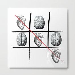 Heart always wins Metal Print