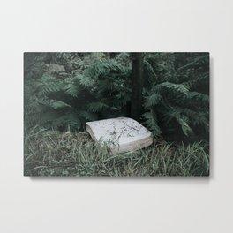 Fern Mattress Metal Print