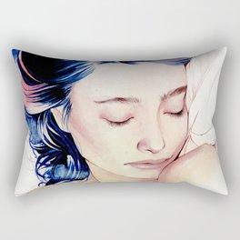 Between the sheets Rectangular Pillow