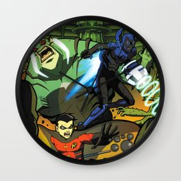 Gamma Squad  Wall Clock