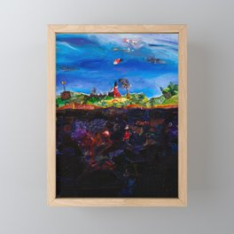Soaring Framed Mini Art Print
