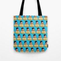 goku Tote Bags featuring Son Goku by husavendaczek