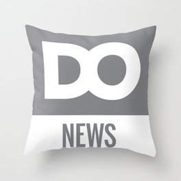 DO News Throw Pillow