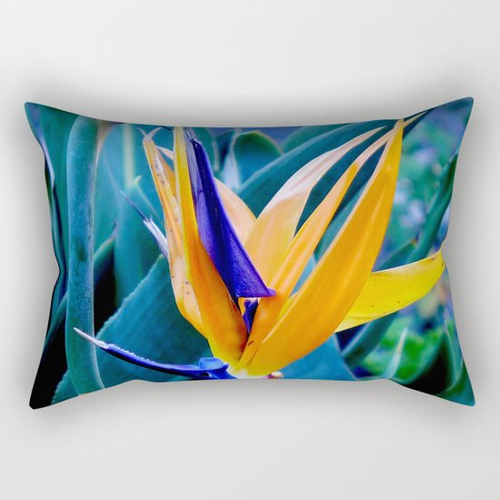 Strelitzia Rectangular Pillow