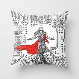 Commander of the Twelve Throw Pillow