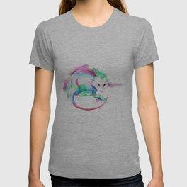 Watercolor Opossum by Calder Brown T-shirt