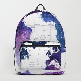 ALLOVER THE WORLD-Galaxy map Backpack