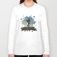 surfer Long Sleeve T-shirts featuring Surfer by NeleVdM