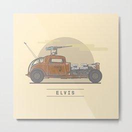 Mad Max: Fury Road - Elvis Metal Print