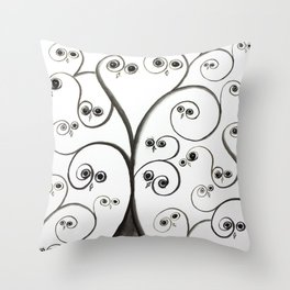 owltree Throw Pillow