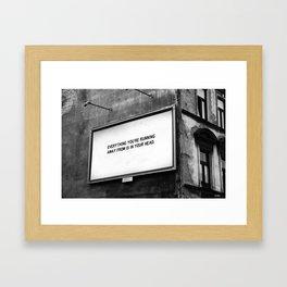 BILLBOARD FANTASIES #2 Framed Art Print