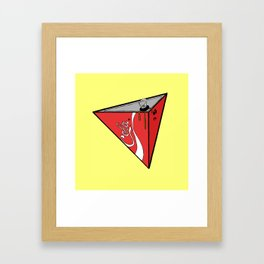 COLA CAN Framed Art Print