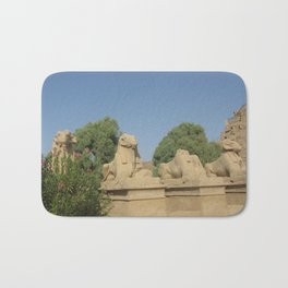 The Avenue of Sphinxes Bath Mat