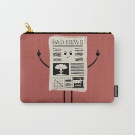 Bad News Carry-All Pouch