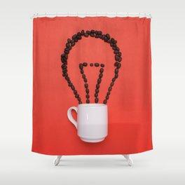 Coffee idea Shower Curtain