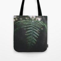 fern Tote Bags featuring Fern by Bor Cvetko