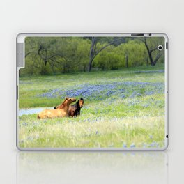 Horses & Bluebonnets Laptop & iPad Skin