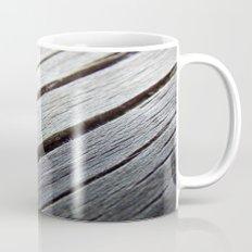 Rustic wooden floor (grey colors) Mug