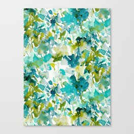 Local Color (Teal) Canvas Print