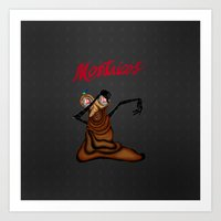 Montricos_KAKA_G Art Print