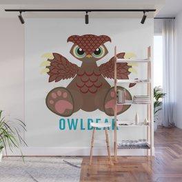 Owlbear Wall Mural